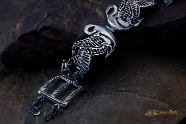inspirational bracelets- black swan jewelry